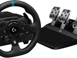 Logitech G Reveals G923 Racing Wheel and Pedals
