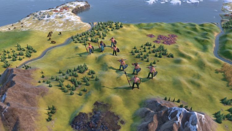 Civilization Vi New Frontier Pass Civilization 6 Ambiorix Gauls Gaul Deity Guide 1a