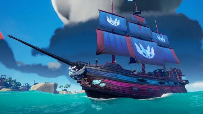 Get the free Sea of Thieves 'Ancestral Ship Set' this weekend