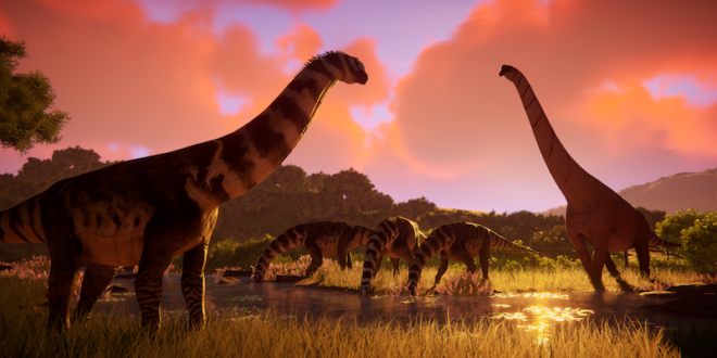 Create your own dino-park in Prehistoric Kingdom