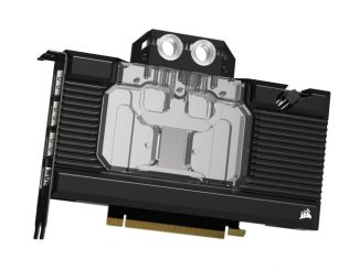 Corsair launching GPU water blocks for RTX 30 Series