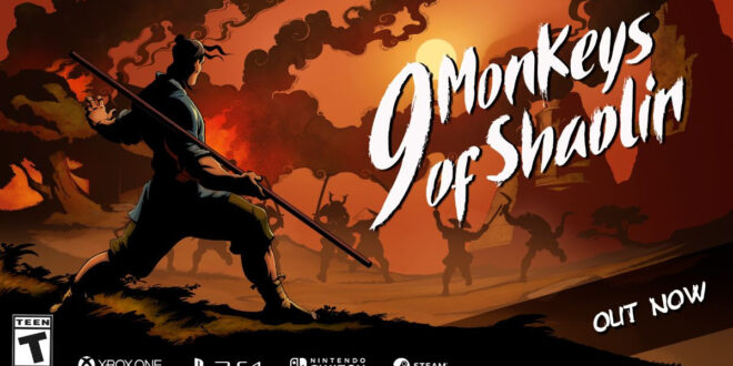 Trailer: 9 Monkeys of Shaolin hits consoles and PC