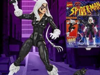 Black Cat gets a retro-packaged Marvel Legends figure from Hasbro