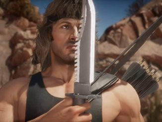 Mortal Kombat 11 Rambo gameplay trailer shows he's not just another gun guy