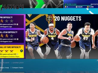 NBA 2K21 adds unskippable adverts to MyTEAM loading screens