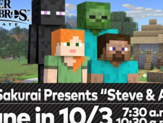 Minecraft heroes coming to Smash Bros, first look this Friday