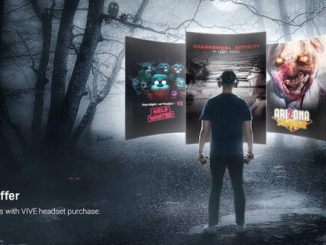 Get some Halloween VR deals with HTC's Vive