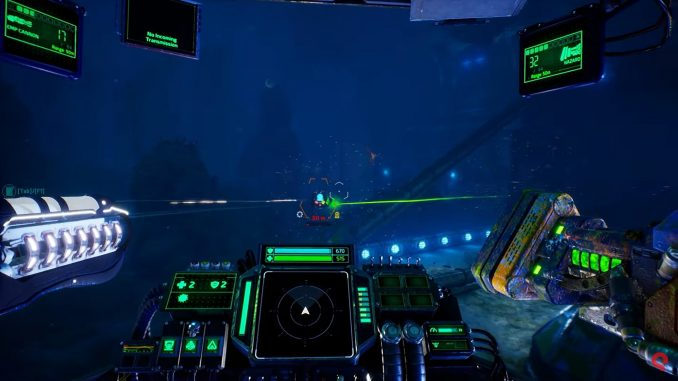 Aquanox: Deep Descent weapons trailer shows how to mix and match to do big damage