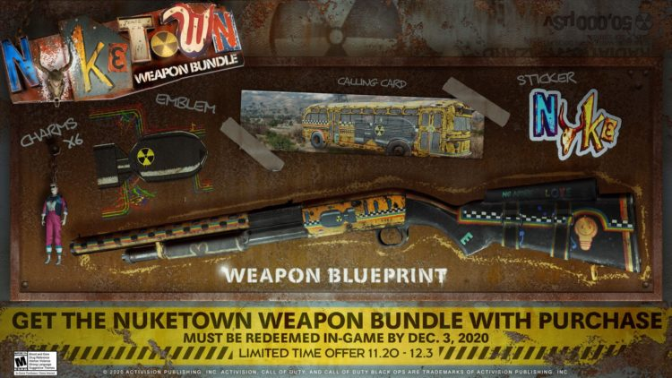Black Ops Cold War Nuketown Bundle