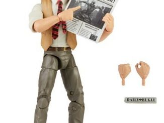 Hasbro announces Daily Bugle's J Jonah Jameson figure, War Machine helm