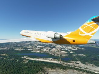 Modders successfully port FSX CRJ-700 to Microsoft Flight Simulator