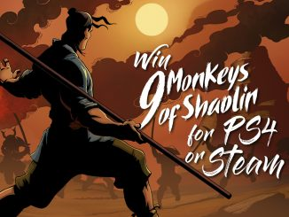 Contest: Win 9 Monkeys of Shaolin for Steam or PS4