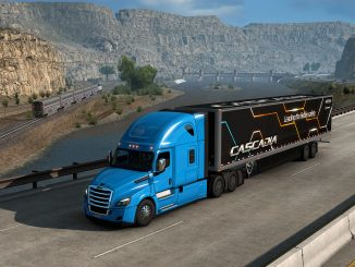 The Freightliner Cascadia has rolled in to American Truck Simulator