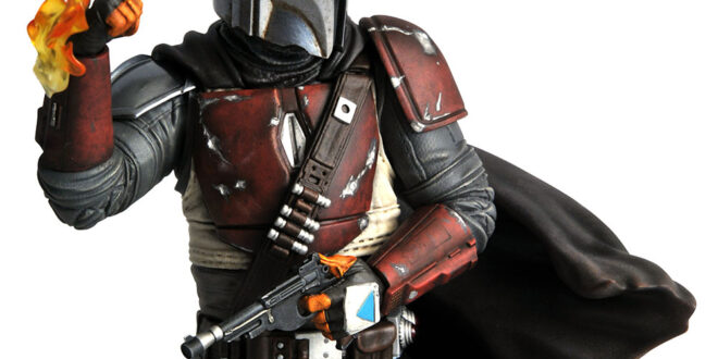New Mandalorian mini-bust coming up from DST