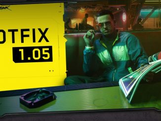 Cyberpunk 2077 hotfix 1.05 live for consoles, coming very soon for PC