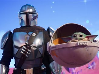 The Fortnite Baby Yoda back bling is causing problems in matches