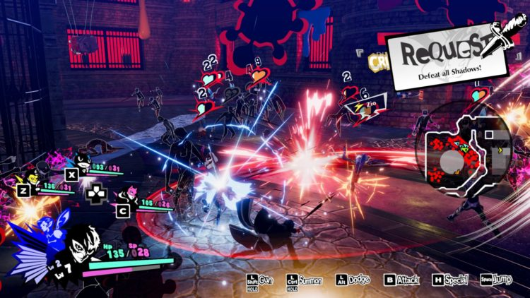 Persona 5 Strikers review - Battle