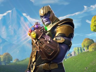 A Fortnite leak suggests that a Thanos skin could be coming soon