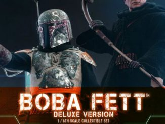 Hot Toys' deluxe Boba Fett detailed, along with deluxe version