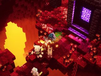 New Minecraft Dungeons Flames of the Nether DLC is out today