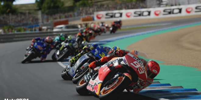 Trailer: MotoGP 21 racing into stores this April