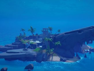 Where to find the anomaly on Shark Island in Fortnite Season 6