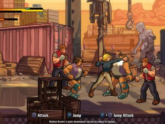 Mayhem Brawler preview — These streets glitter in the dark