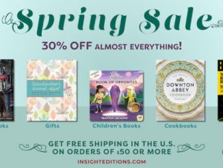 Insight Editions' Spring Sale kicks off today