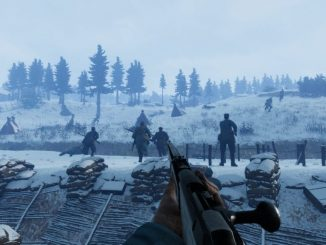 Tannenberg Review World War I Game Romania Trench Snow