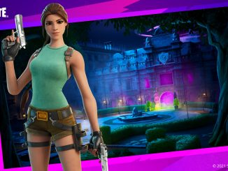 Fortnite launches Croft Manor in creative mode, with a free spray