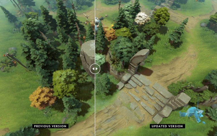 Dota 2 Patch 7.29 Map Changes