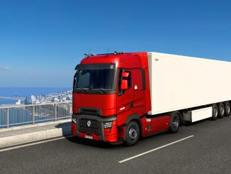 Renault's new T trucks revealed in Euro Truck Simulator 2