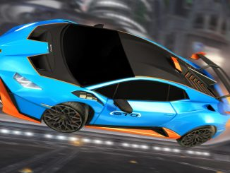 The Lamborghini Huracán STO roars into Rocket League