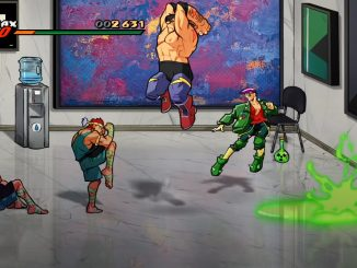 Max Thunder will be playable in Streets of Rage 4