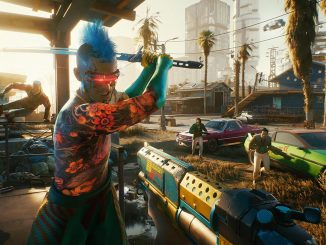 Wall running sort of returns to Cyberpunk 2077 with new mod