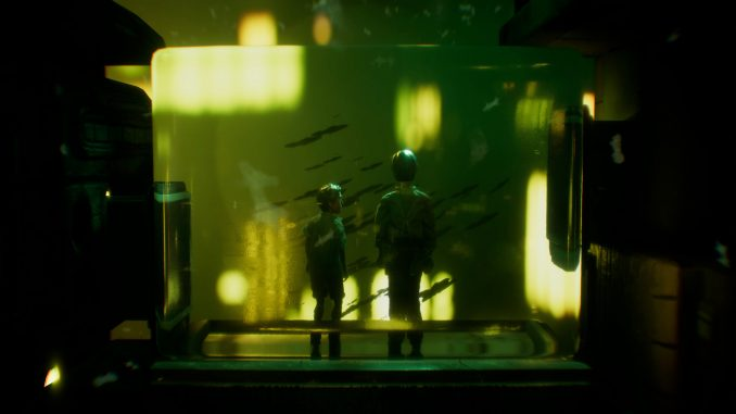 Harold Halibut blends stop motion and narration, tells a story of life on a 'city-sized spaceship'