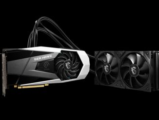 MSI finally launches the RTX 3080 Sea Hawk X and the design is epic