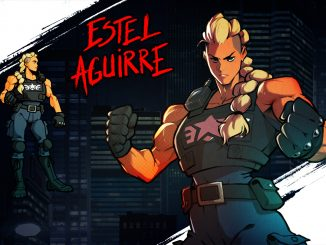 Estel will be playable in Streets of Rage 4