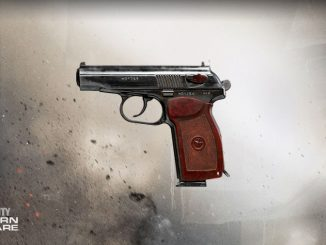 Warzone leak suggests a possible release date for the Sykov pistol