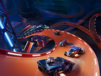 Check out the college campus track in Hot Wheels Unleashed