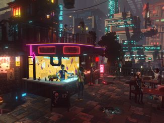 Nivalis announced, is a slice-of-life sim set in the Cloudpunk universe