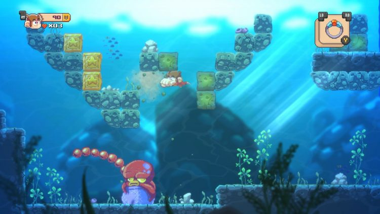 Alex Kidd in Miracle World review