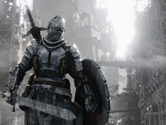 Forsaken marries Dark Souls with Shadow of the Colossus