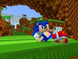 Sonic the Hedgehog races onto Minecraft with DLC levels and skins