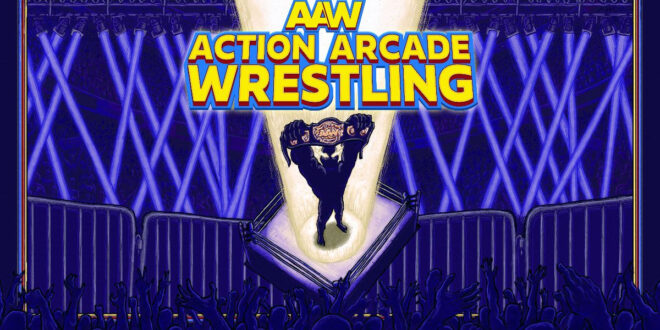 Trailer: Action Arcade Wrestling pinning consoles next month