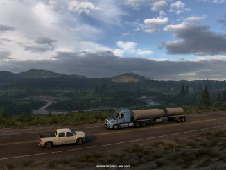 First gameplay footage of American Truck Simulator: Wyoming revealed