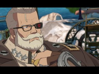Goldlewis Dickinson is the first DLC character for Guilty Gear Strive