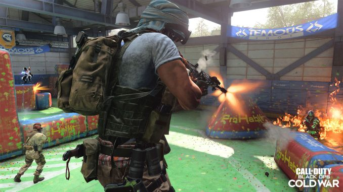 The MG36 has been spotted in Rush in Black Ops Cold War