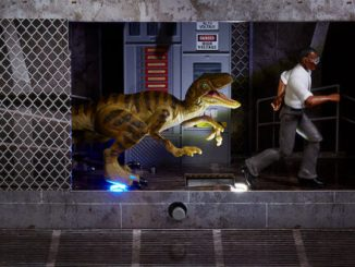 SDCC 21: One of the original Jurassic Park's most gruesome scenes is today's special reveal from Mattel