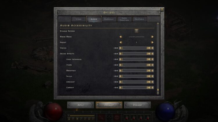 Diablo Ii Resurrected Quality Of Life Accessibility Changes Audio